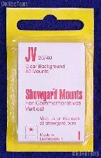 Showgard Pre-Cut Clear Stamp Mounts Size JV25/40