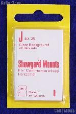 Showgard Pre-Cut Clear Stamp Mounts Size J40/25