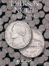 Harris Jefferson Nickels 1996-Date Coin Folder  2681
