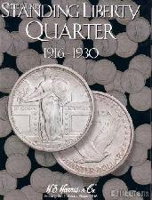 Harris Standing Liberty Quarters Coin Folder  2687