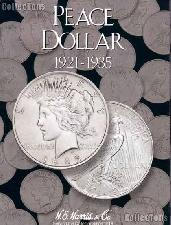 Harris Peace Dollars 1921-1935 Coin Folder  2709