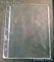 Dansco 1-Pocket Vinyl Album Page