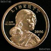 2000-S Sacagawea Dollar GEM Proof 2000 Sacagawea SAC Dollar