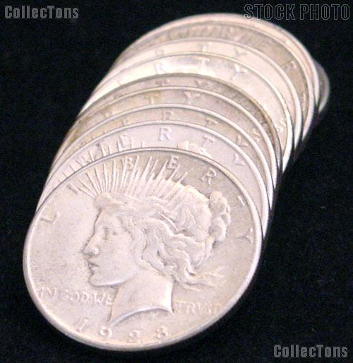 1928-S Peace Dollars - Better Date Silver Dollar