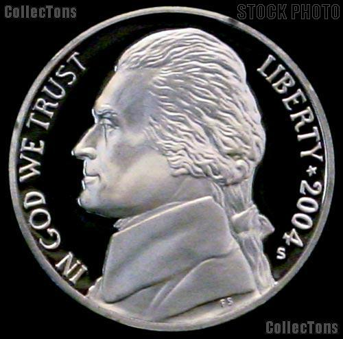 2004-S Jefferson Nickel PROOF Coin 2004 Peace Medal Coin
