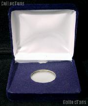 "Blue Velvet Box for 1 Air-Tite ""A"" Holder"