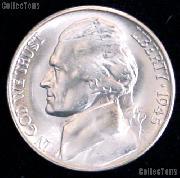 1945-S Jefferson Silver War Nickel - BU from Original Roll