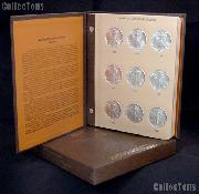 Silver Eagle Complete Set of BU American Silver Eagle Dollars 1986 to Date with Dansco Album & Archival Slipcase