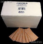 1000 Flat Kraft Paper Coin Wrappers for 40 QUARTERS
