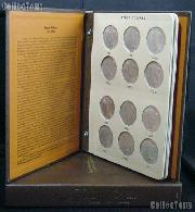 Peace Dollar Set 1921 - 1935 Complete Circulated Set w/ Rare 1928 Silver Dollar All Mints P, D, S (24 Coins) in Dansco Album # 7175