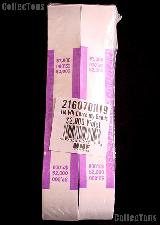 Currency Straps $2000 Violet for 100 Twenty Dollar Bills Pack of 1,000 Bands