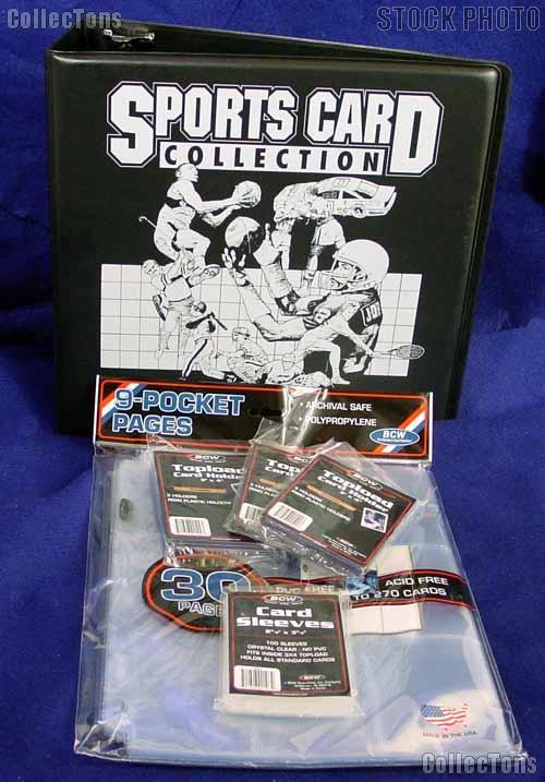Trading Card Kit by BCW Sports Card Collector Starter Set