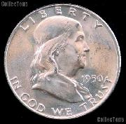 1950 Franklin Half Dollar Silver * Choice BU 1950 Franklin Half