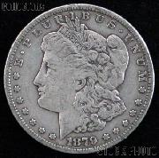 1879 Morgan Silver Dollar Circulated Coin VG 8 or Better