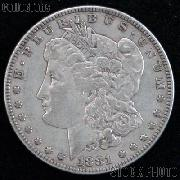 1881 Morgan Silver Dollar Circulated Coin VG 8 or Better