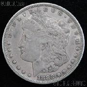 1882 CC Morgan Silver Dollar Circulated Coin VG 8 or Better