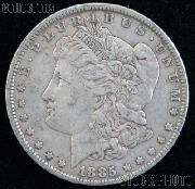 1885 CC Morgan Silver Dollar Circulated Coin VG 8 or Better