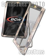10 Sports Card Holders w/ Stands by BCW 1 Screw Card Holders w/ Stands 20 Point