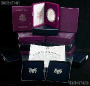 Silver Eagle Proof Set 1986 - 2014 All in Box w/ COA American Silver Eagle Dollars Proof Set