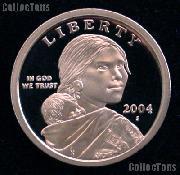 2004-S Sacagawea Dollar GEM Proof 2004 Sacagawea SAC Dollar