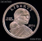 2006-S Sacagawea Dollar GEM Proof 2006 Sacagawea SAC Dollar