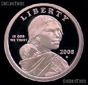 2008-S Sacagawea Dollar GEM Proof 2008 Sacagawea SAC Dollar
