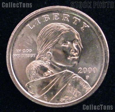 2000-P Sacagawea Dollar BU 2000 Sacagawea SAC Dollar