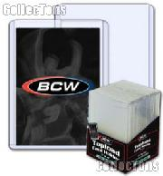 Sports Card Holders by BCW 25 Pack Thick Card Topload Sleeves 79 Point 2mm