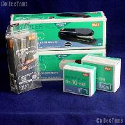 Coin Collecting Supplies - Staplers