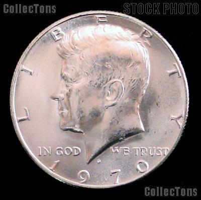1970-D Kennedy Silver Half Dollar GEM BU * RARE 1970-D Kennedy Half Dollar