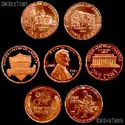 American Coins by Date - U.S. Cents