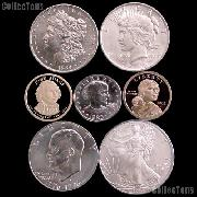 American Coins by Date - U.S. Dollar Coins