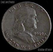 1949-S Franklin Half Dollar Silver Coin 1949 Half Dollar Coin