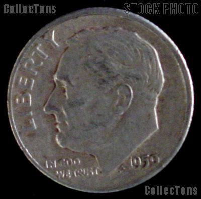1950-S Roosevelt Dime Silver Coin 1950 Silver Dime