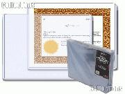 Stock Frame by BCW 25 Pack Stock Certificate Frame Toploaders
