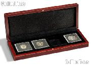 Coin Box Wooden for Four 2x2 Coin Holders QUADRUM by Lighthouse VOLTERRA QUADRUM 4
