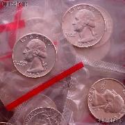 1962-D Washington Silver Quarter BU in Mint Cello