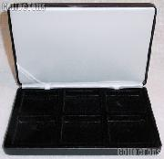 Coin Display Case by Lighthouse NobileQ6 Coin Box for Six Quadrum Holders