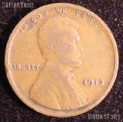 1913 Wheat Penny Lincoln Wheat Cent Circulated G-4 or Better