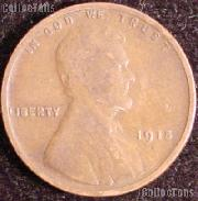 1915 Wheat Penny Lincoln Wheat Cent Circulated G-4 or Better