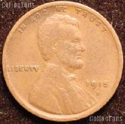 1915-D Wheat Penny Lincoln Wheat Cent Circulated G-4 or Better