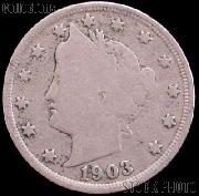 1903 Liberty Head V Nickel G-4 or Better
