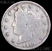 1910 Liberty Head V Nickel G-4 or Better
