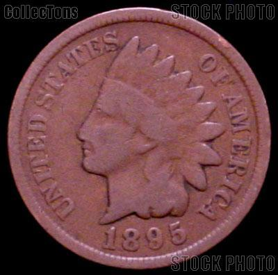 1895 Indian Head Cent Variety 3 Bronze G-4 or Better Indian Penny