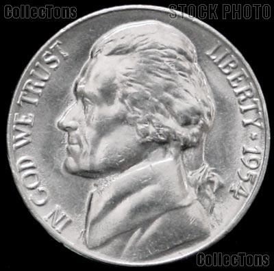 1954-S Jefferson Nickel Gem BU (Brilliant Uncirculated)