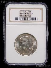 1936 Elgin Illinois Centennial Silver Commemorative Half Dollar in NGC MS 65