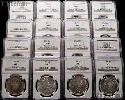 Morgan Silver Dollar 1878-1904 in NGC MS 63 Mixed Dates and Mint Marks