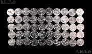 "1999-2008 State Quarter Set Philadelphia ""P"" Mint 50 Uncirculated Coins in Tube"