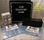 Coin and Currency Collecting Starter Bundle Set with Black Album