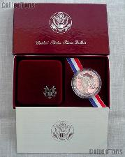1983-S Los Angles Olympiad Discus Thrower Commemorative Proof Silver Dollar